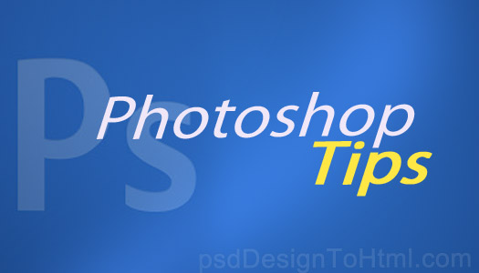 photoshop psd to html tips