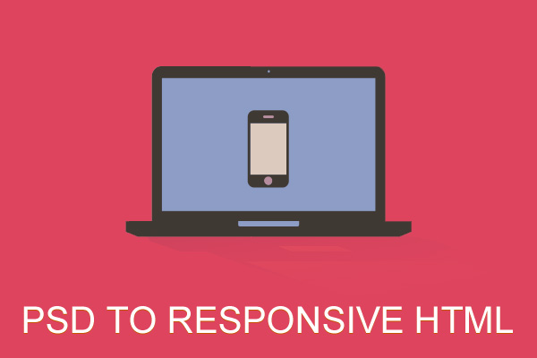 psd to responsive html template